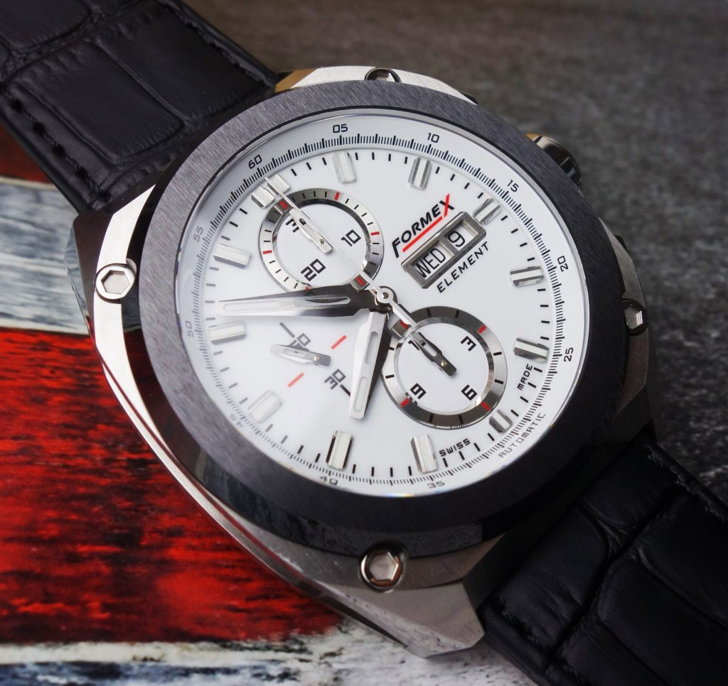 Swiss Made Sportlicher Chronograph Formex