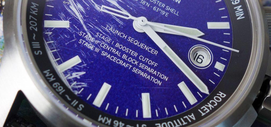 Werenbach B.T.O. Uhr recycelte Rakete