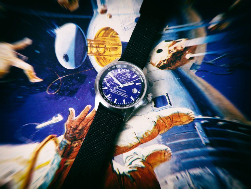 Werenbach Soyuz Rakete Schrott Uhr