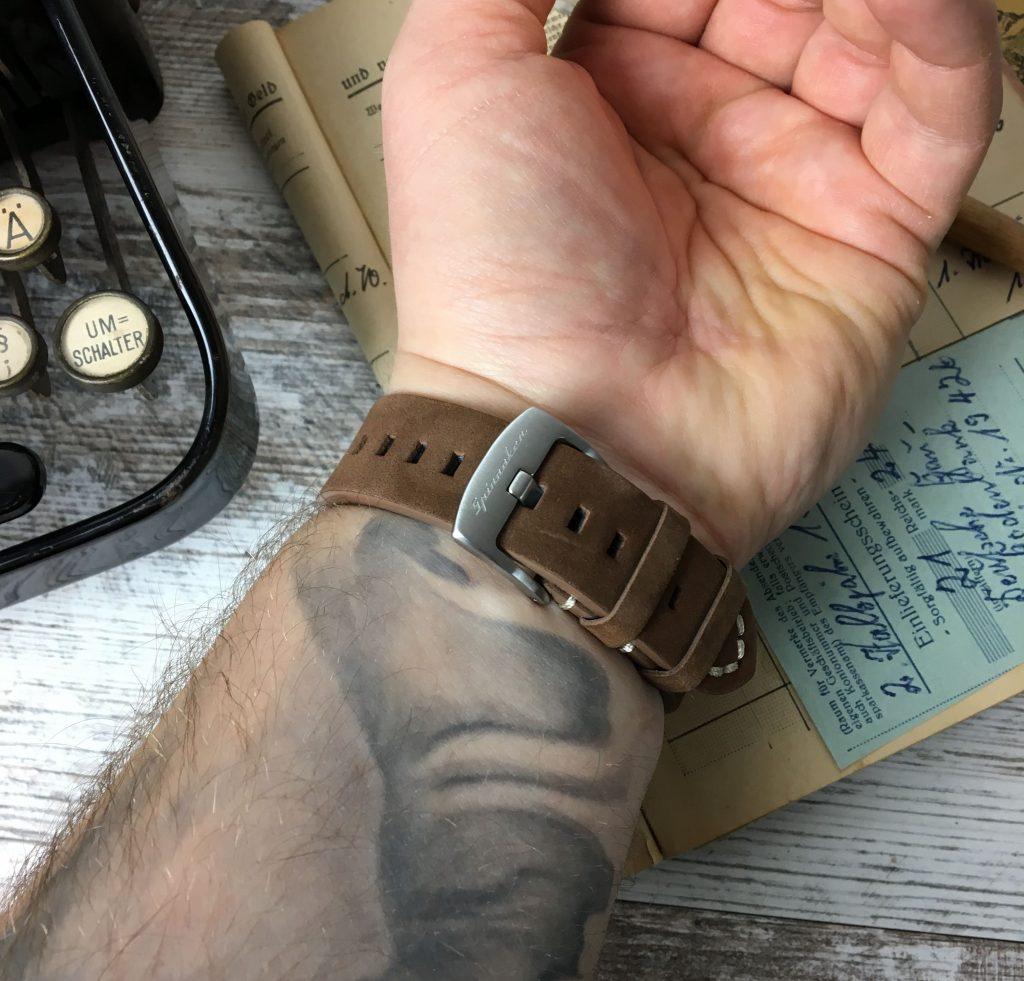 Vitnage Wildleder Uhrenband