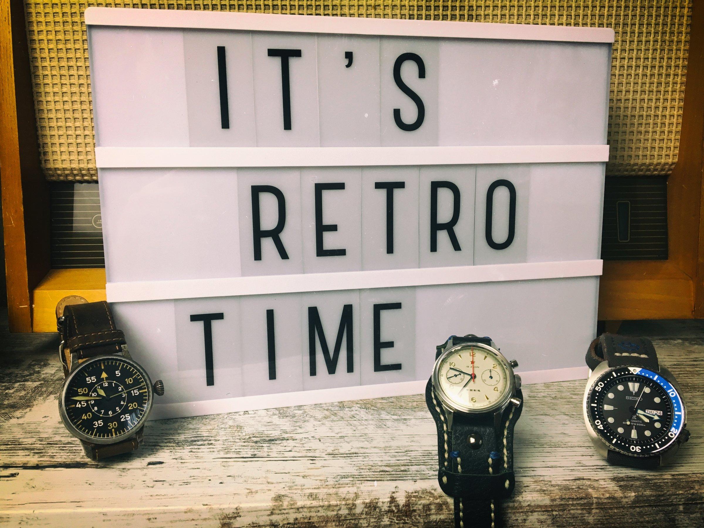 Retro Uhren: Liste mit günstigen Design Klassiken von 10