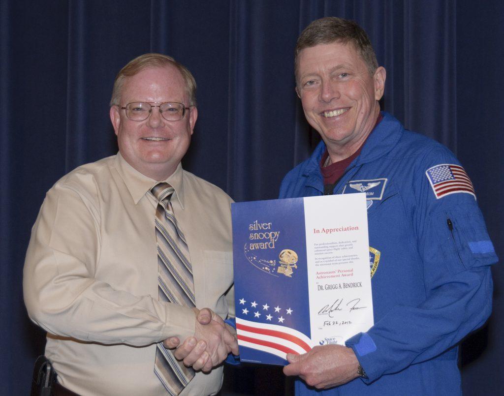 NASA Snoopy Award Astronaut