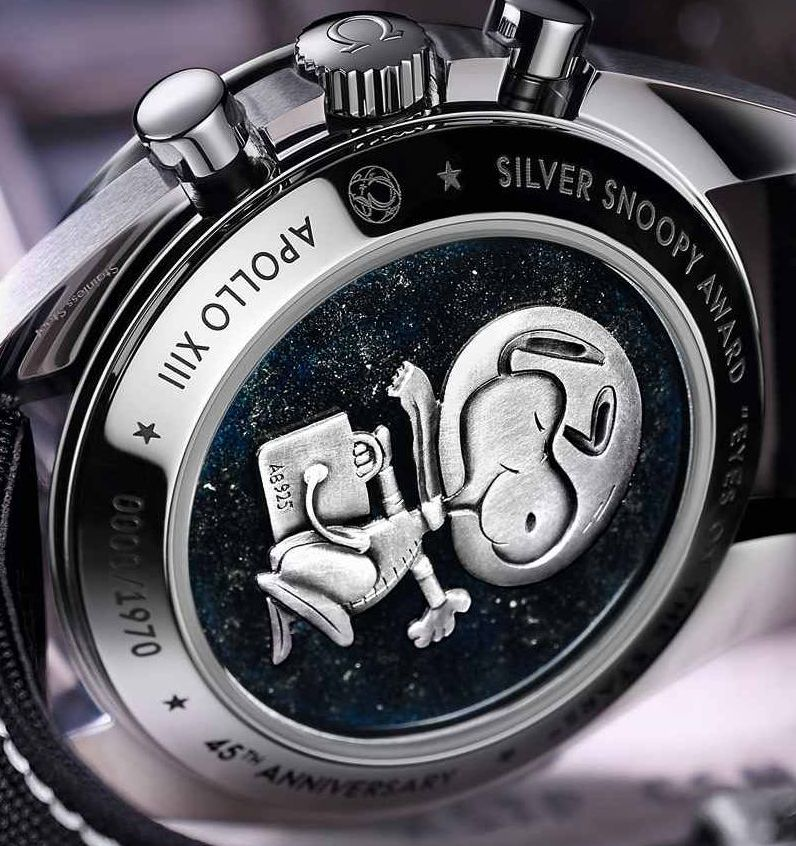 Omega Speedmaster Moonwatch Snoopy Gehäuseboden