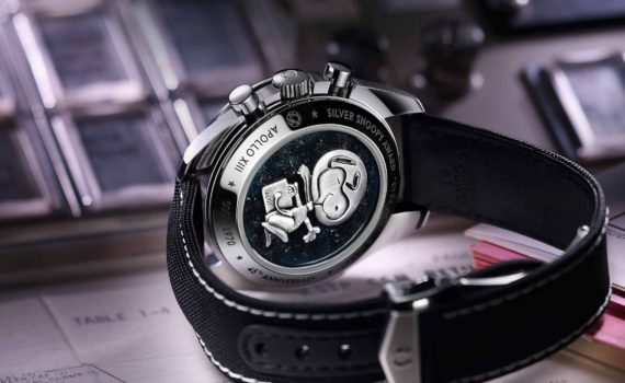 Omega Snoopy Special Edition Caseback