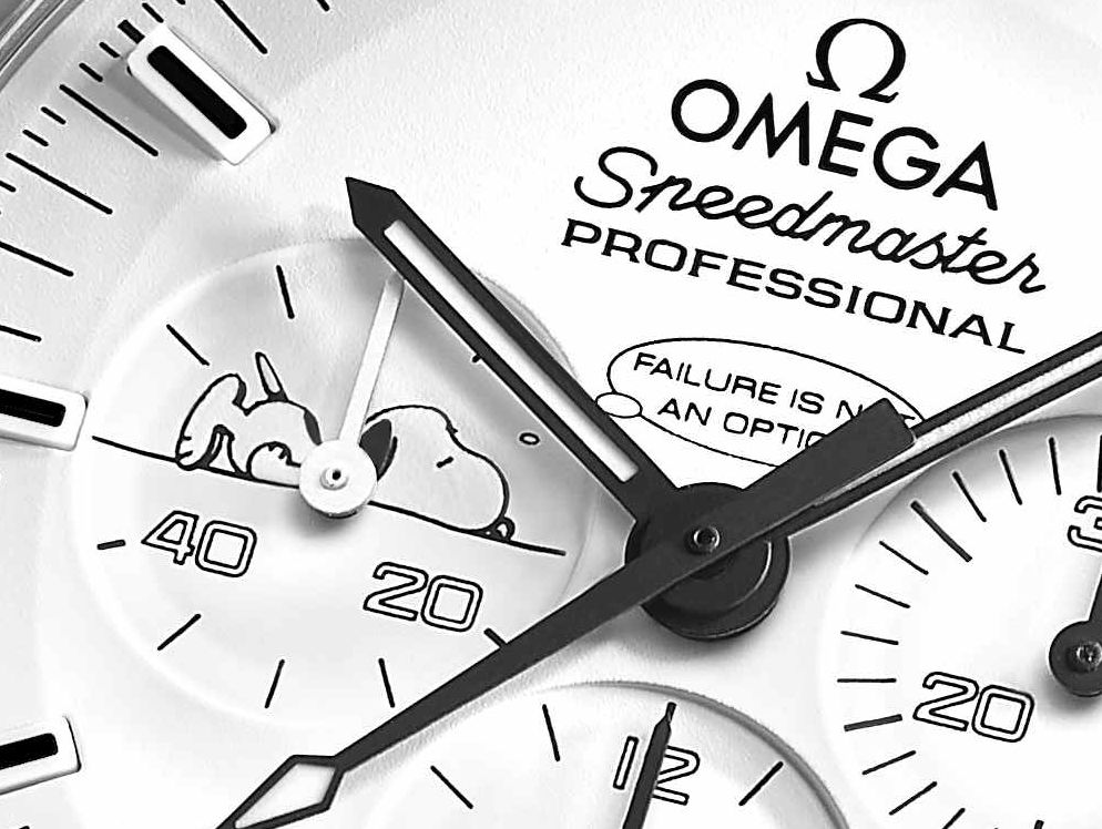 Omega Speedmaster Snoopy Failure is not an option
