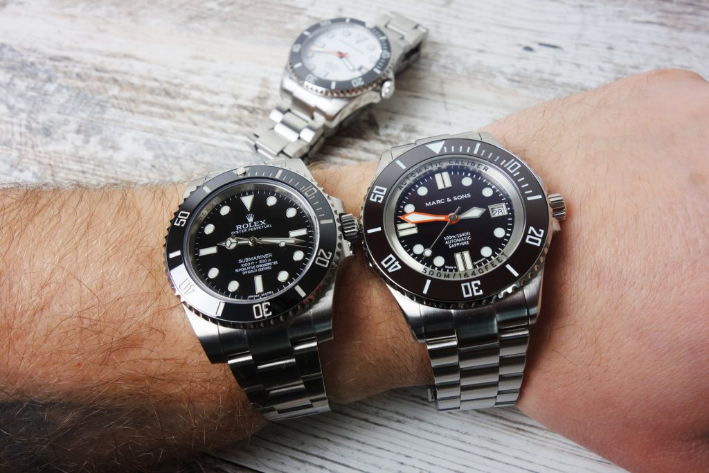 Rolex Submariner vs. Marc & Sons Hommage