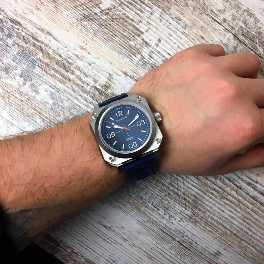 Aquatico Uhr Pilot Taucher