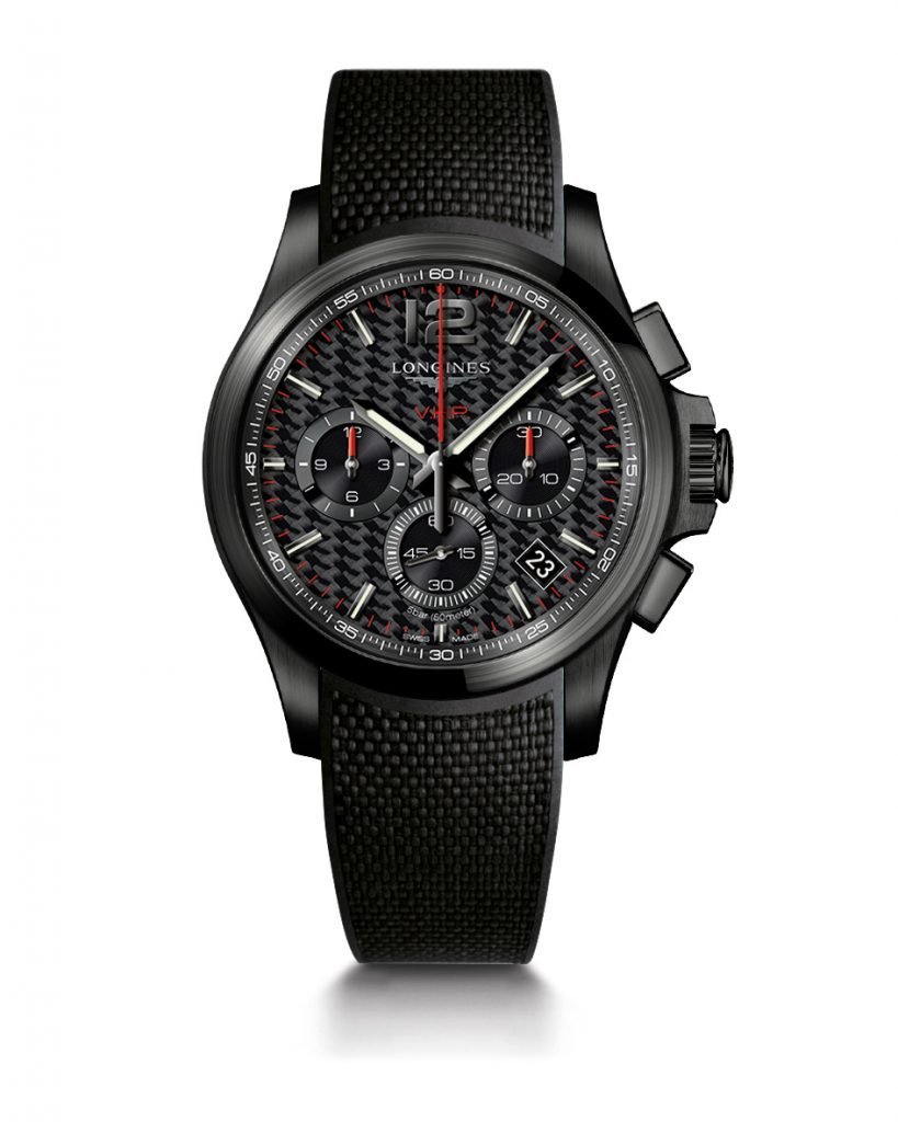 Longines Conquest VHP 2018 black PVD