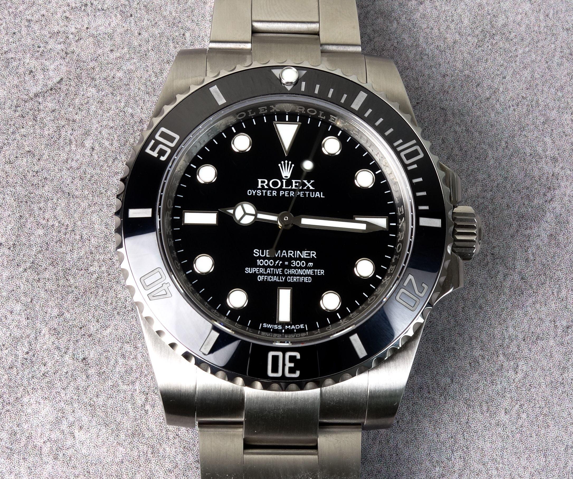 Gefälschte Rolex Submariner Noob v7 Replica