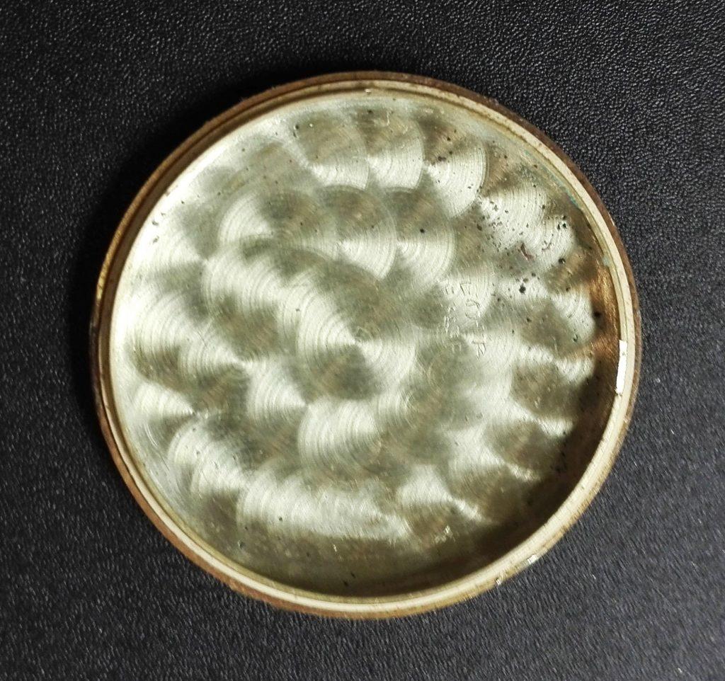 Gold blättert ab Uhr Gehäuse Vintage
