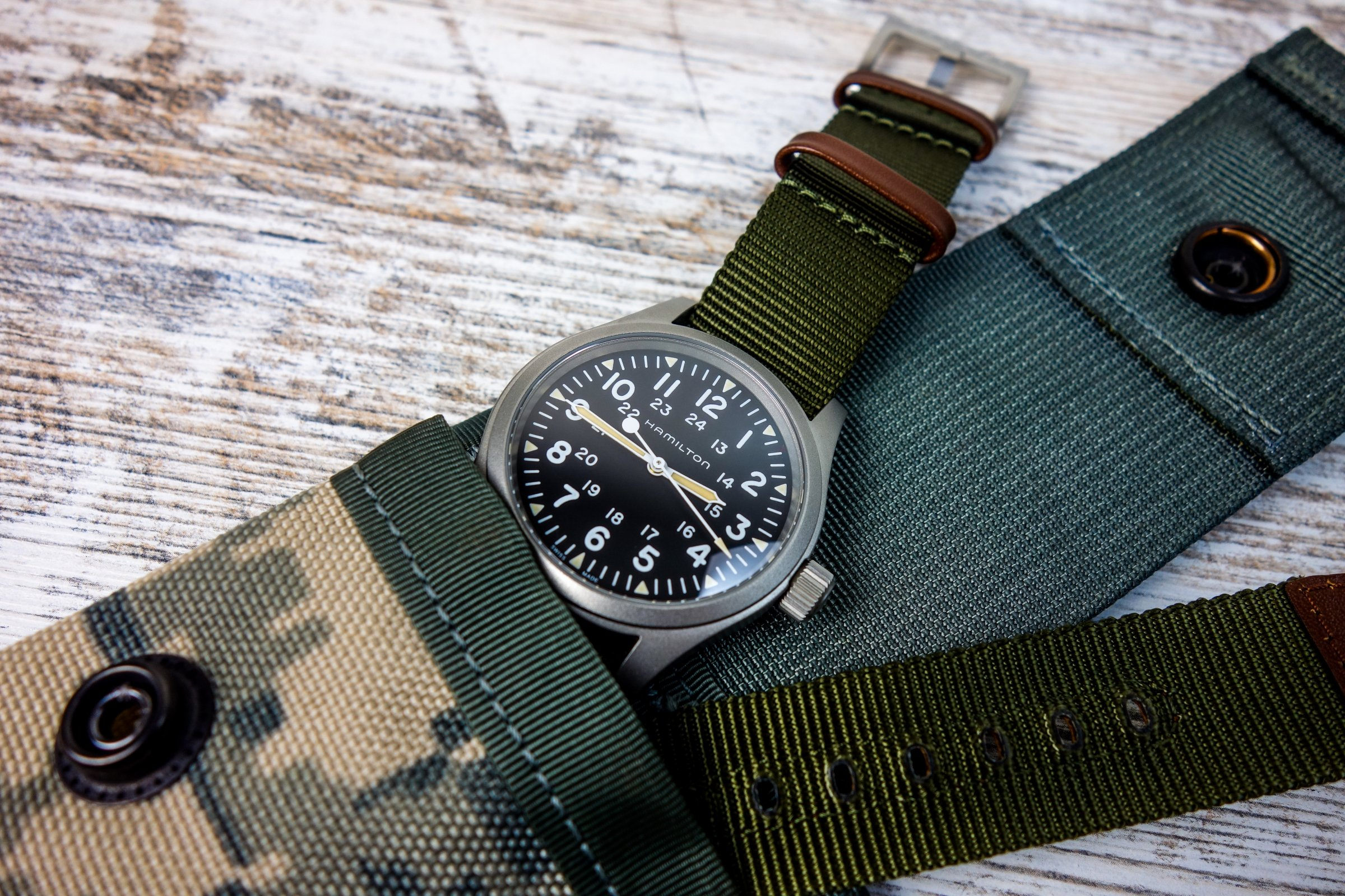 Hamilton Khaki Field Mechanical ETA 2801 Basel 18