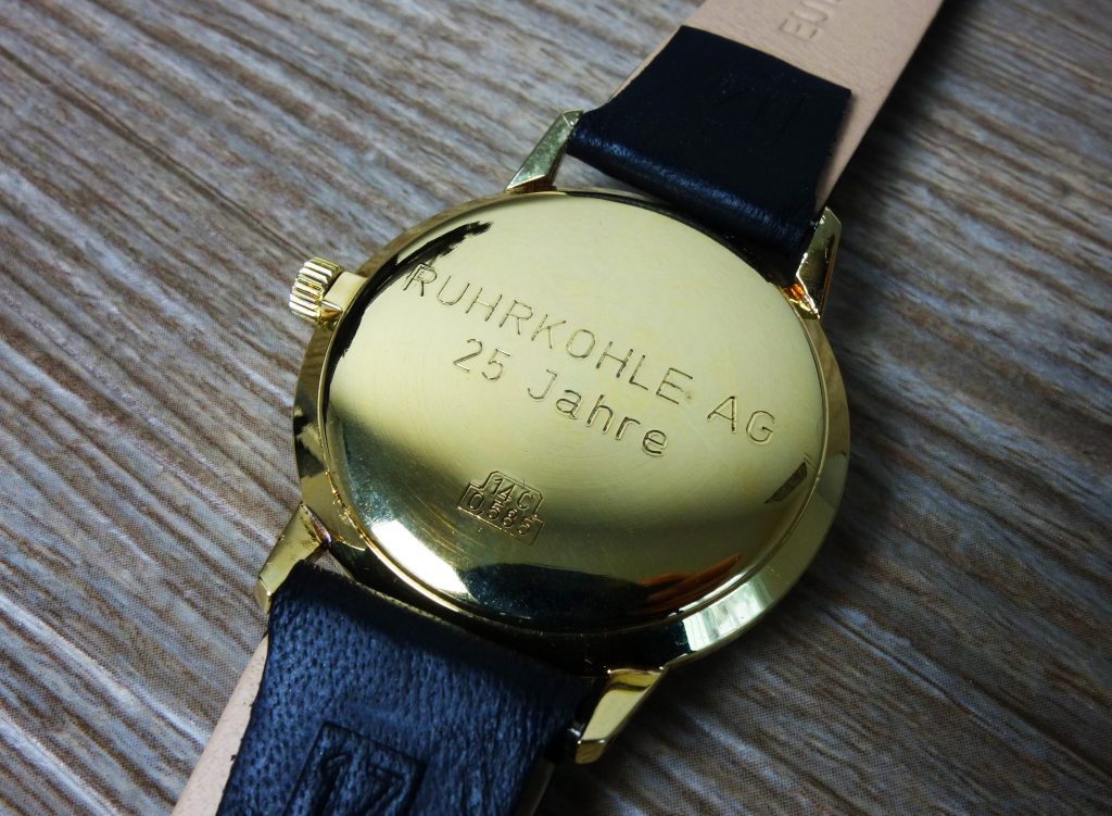 Junghans-Uhr-Ruhrkohle-AG-25-Jahre