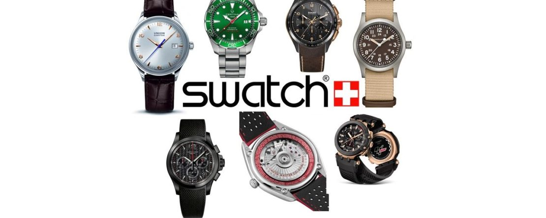 Swatch Gruppe Baselworld 2018