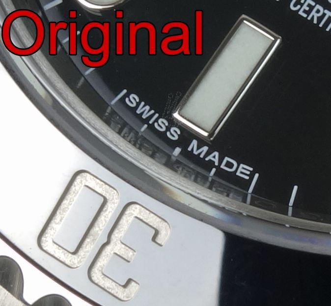 Rolex Krone Laser Gravur Original