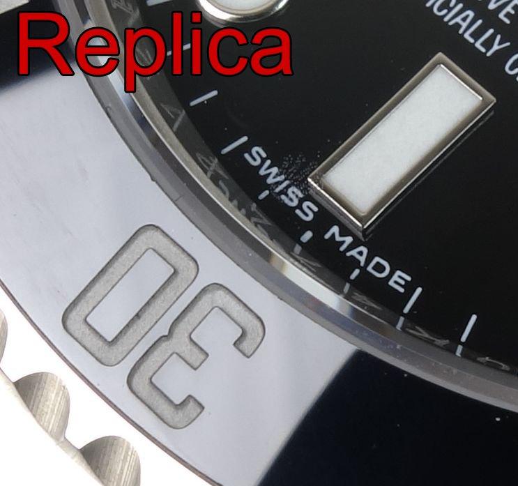 Rolex Krone Laser Gravur Replica