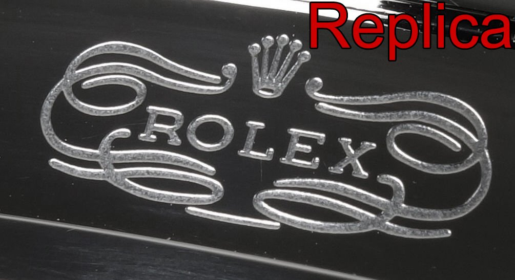 Rolex Schließe Gravur Replica