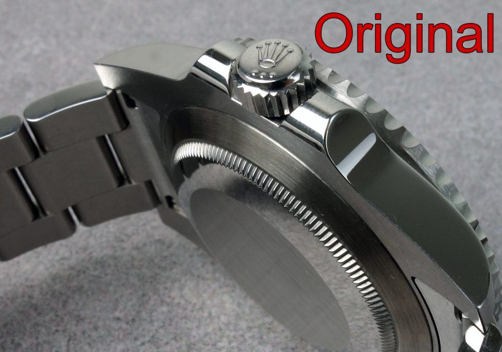 Rolex Sub Original Gehäuseboden