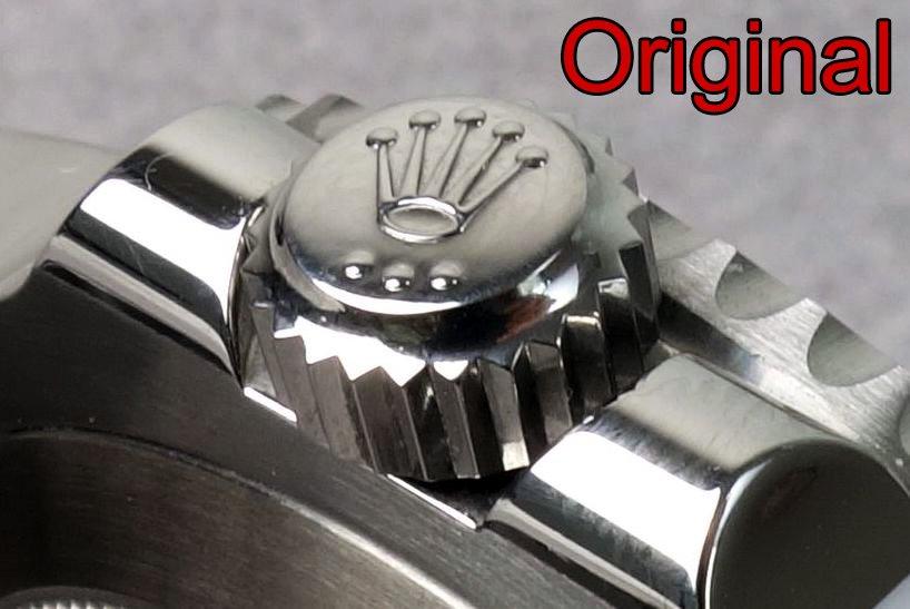 Rolex Sub Original Krone