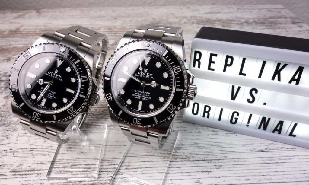 Rolex Submariner 114060 No-Date Original vs. Replica