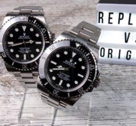 Rolex Submariner 114060 No-Date Original vs. Replica Noob v7