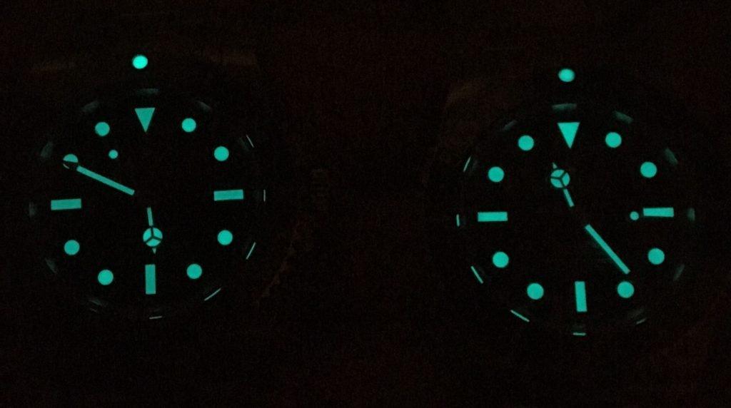 Rolex Submariner Replica Lume Leuchtmasse