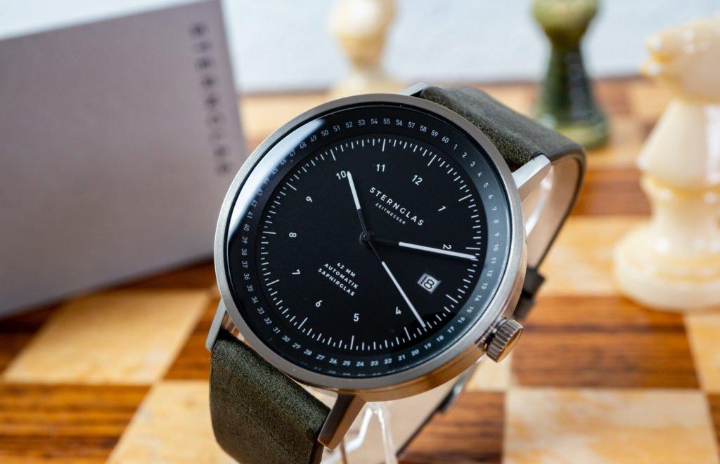 STERNGLAS Topograph Automatik Uhren Test