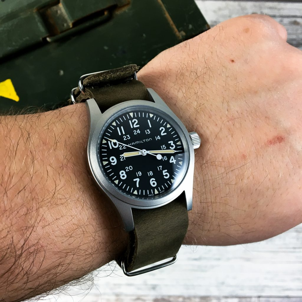 Watchbandit Leder Nato Field Watch