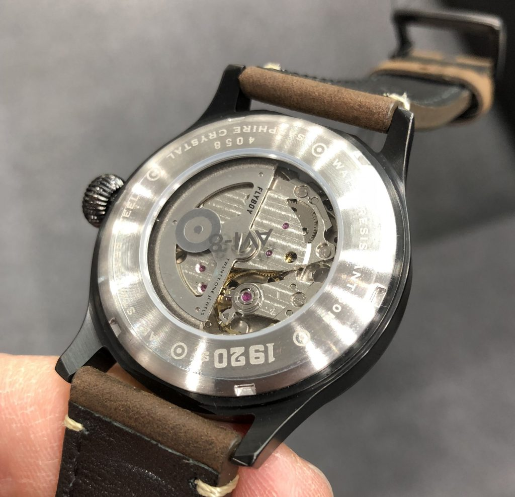 AVI-8 Centenary 1940s Edition Basel world 2018