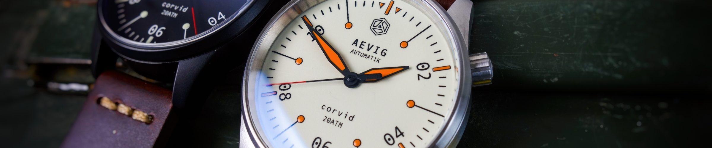 Aevig Runen Uhr
