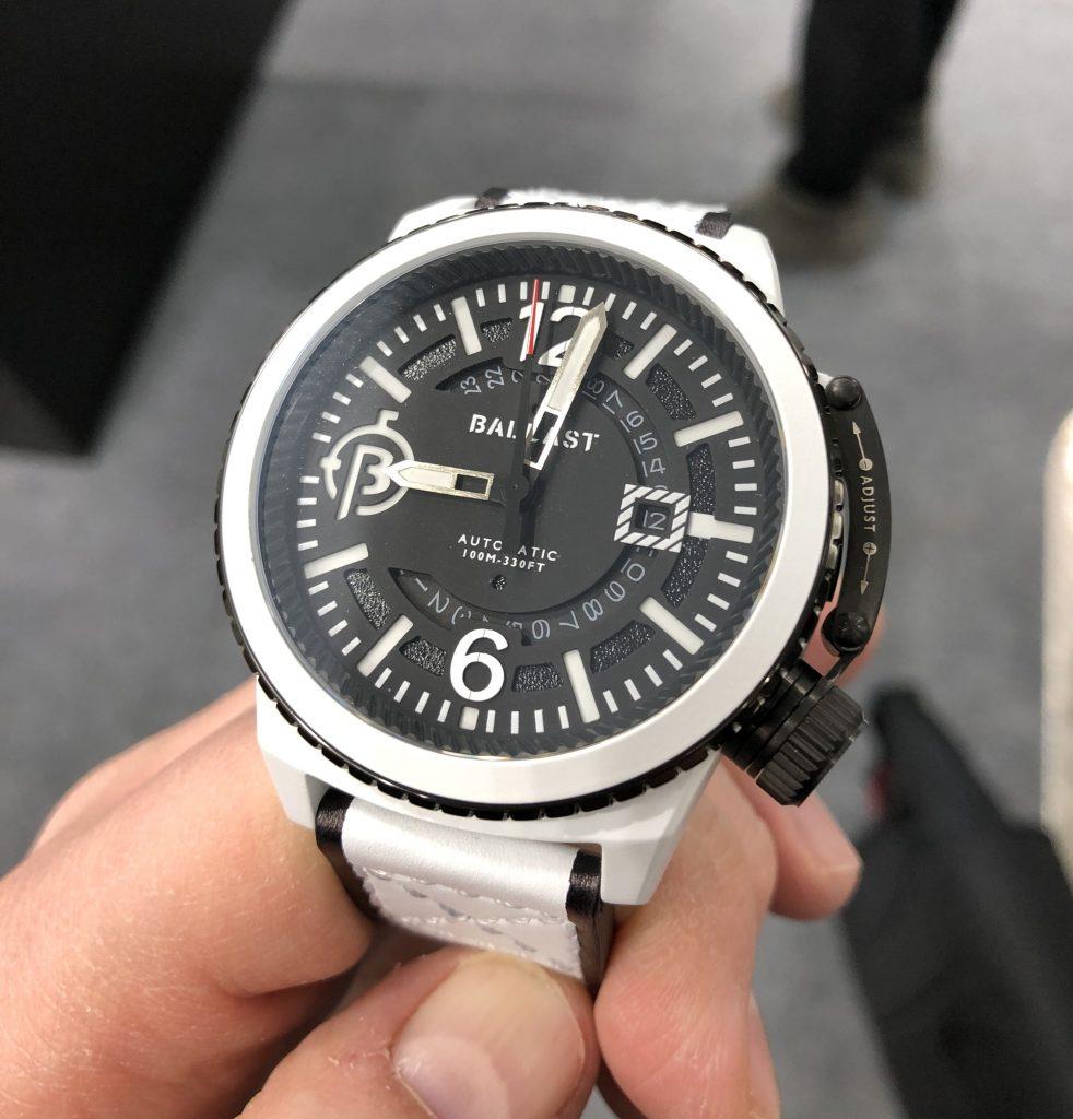 Cerakote Uhr weiß