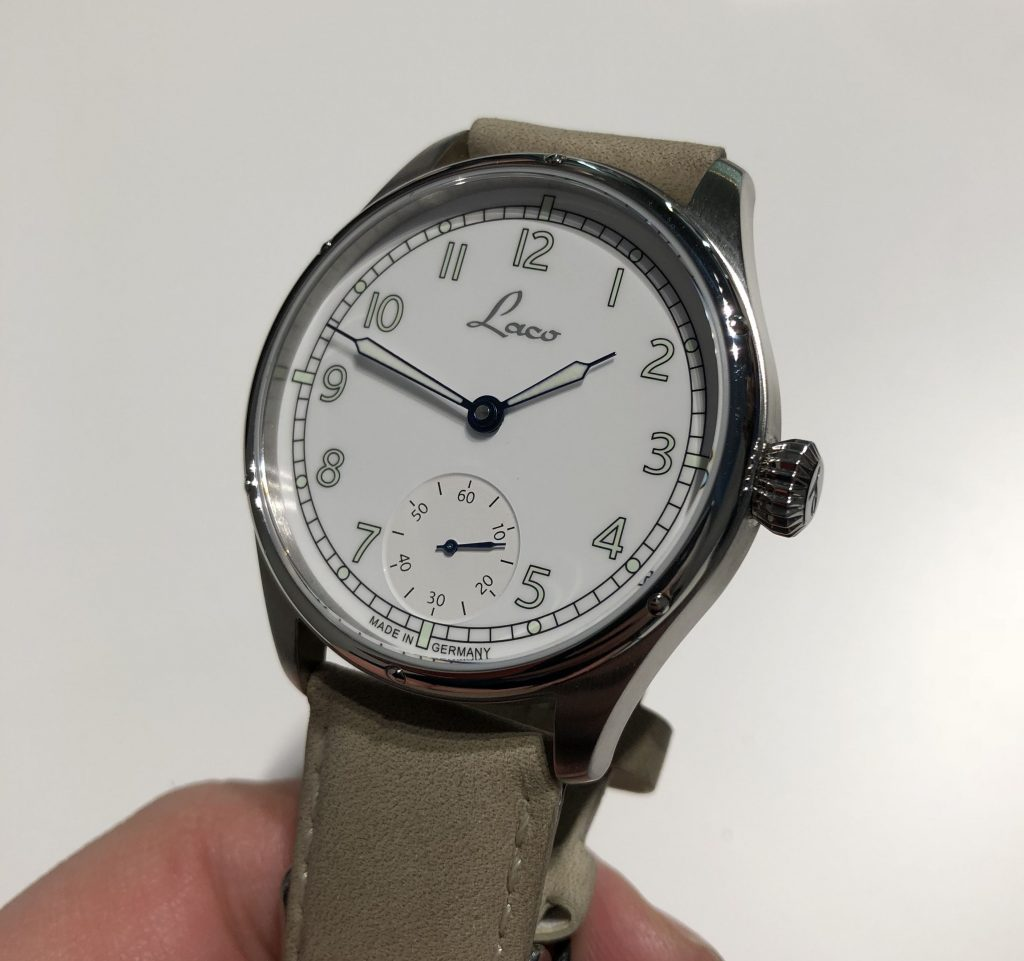 Laco Marine Uhr Made in Germany Prototyp
