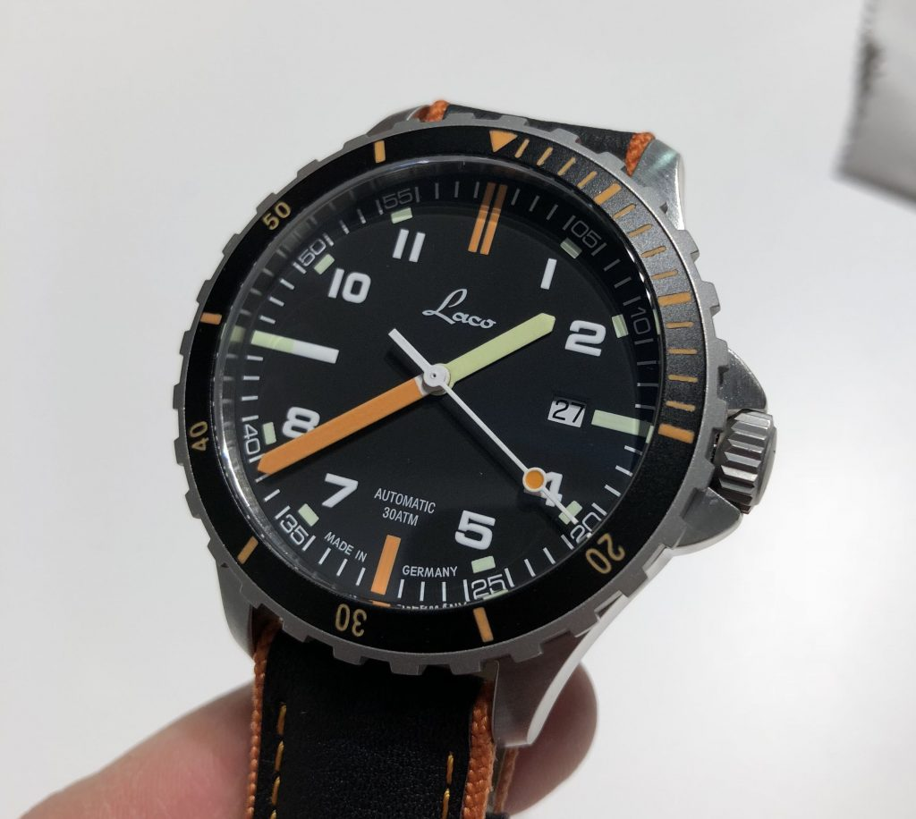 Laco Taucheruhr orange