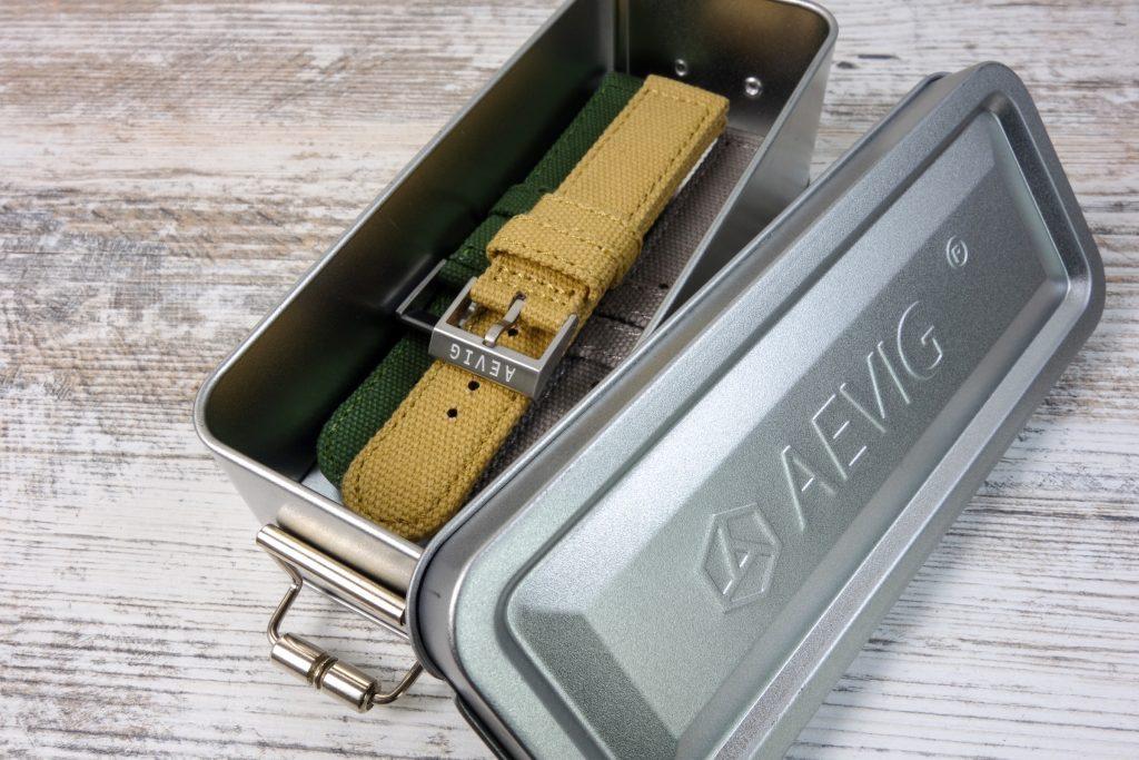 Metallbox Uhrenbänder Aevig