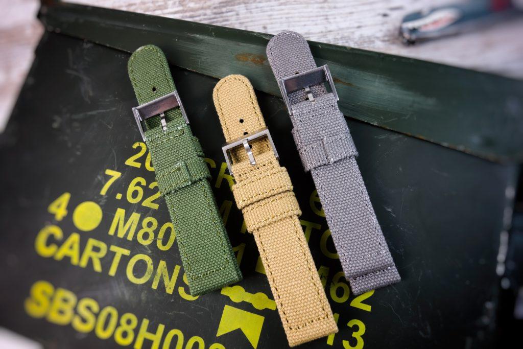 Militär Canvas Uhren Band