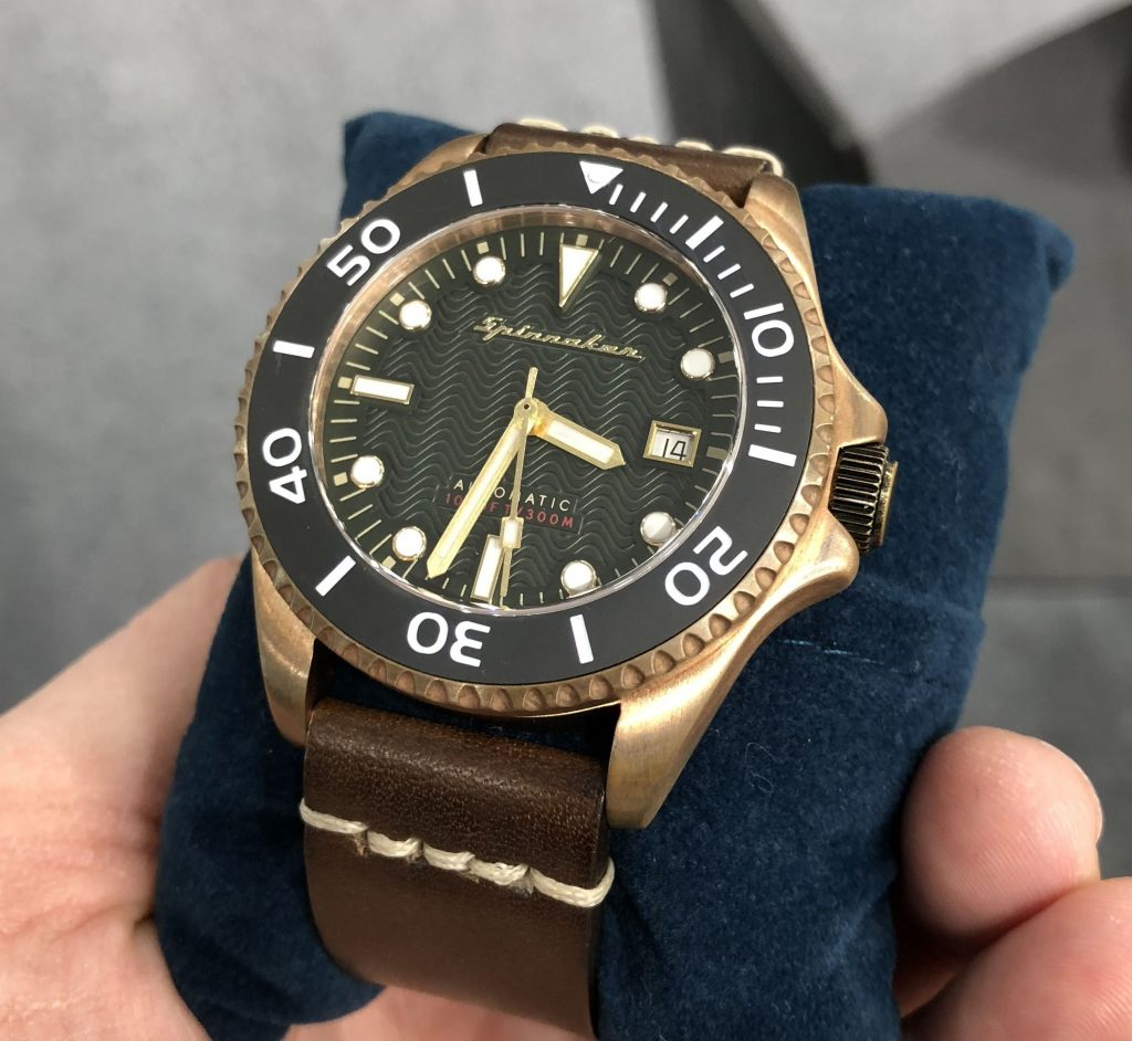 Spinnaker Tesei Bronze Swiss Made Bronze