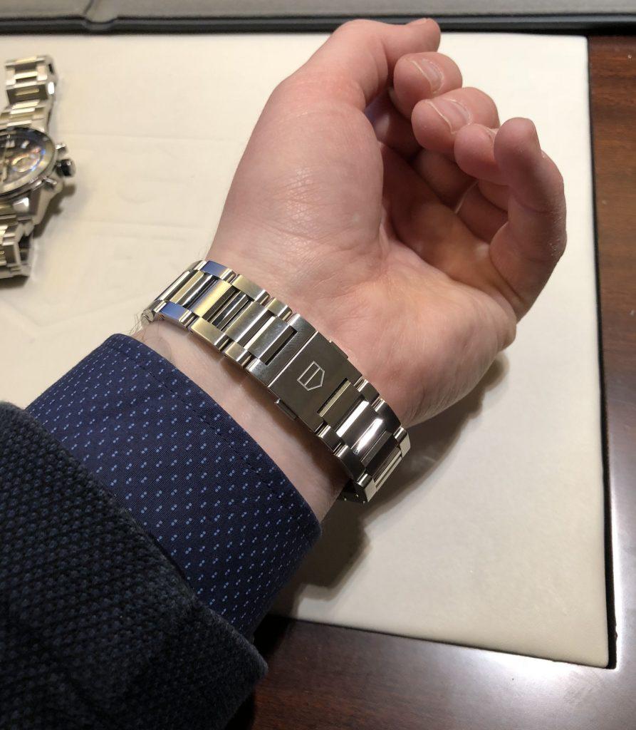 TAG Heuer Carrera Calibre 16 blau 2018 Stahlband