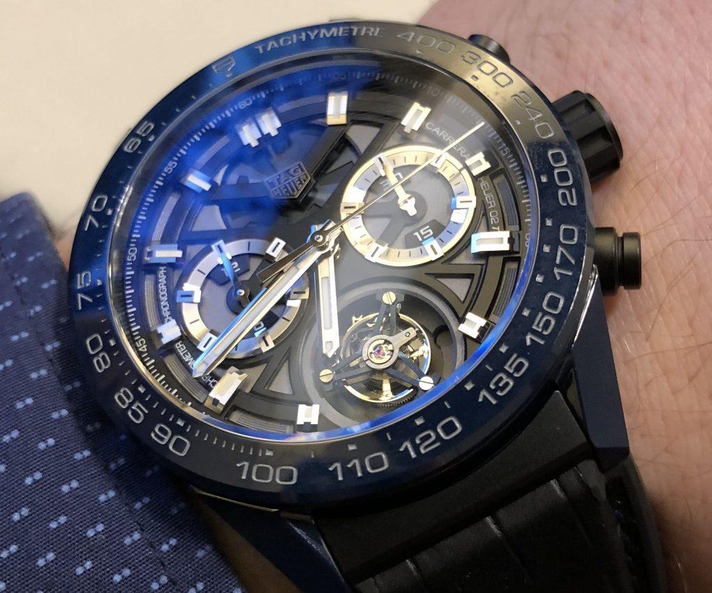 TAG Heuer Carrera Chronograph Tourbillon Chronometer Tête de Vipère Basel 2018