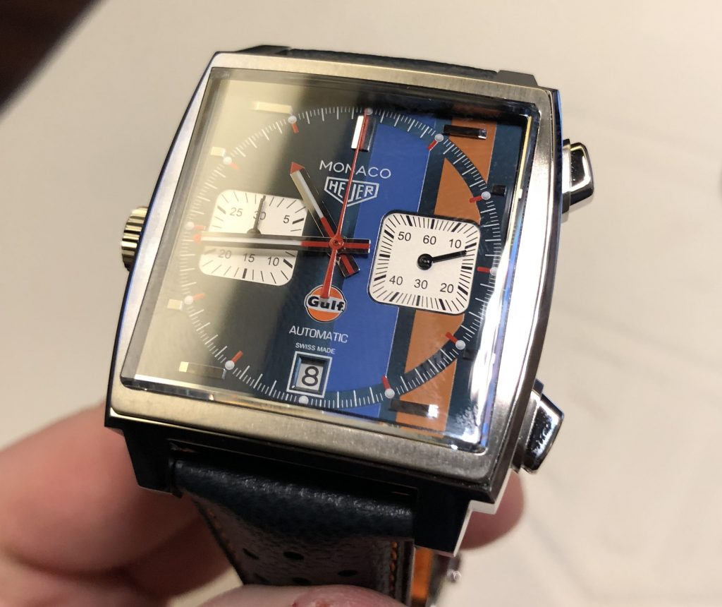TAG Heuer Monaco Gulf Basel world 2018