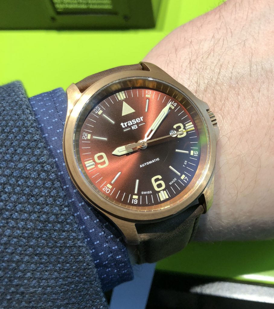 Traser P67 Officer Pro Automatic Bronze