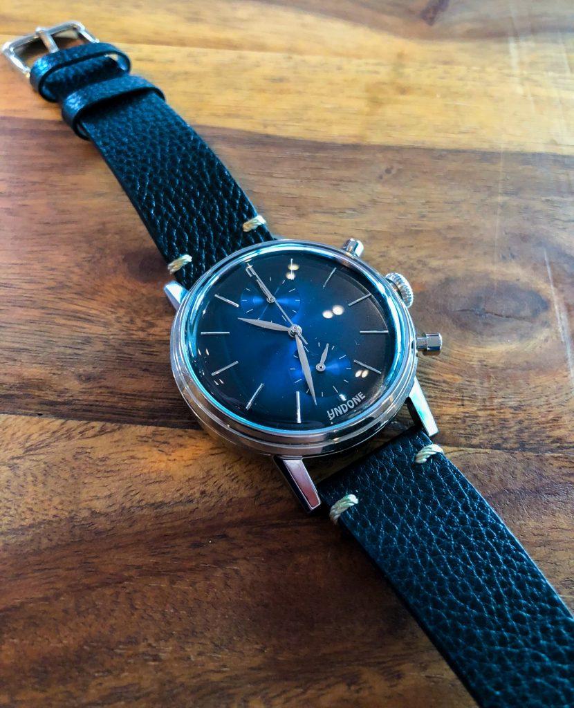 UNDONE Chronograph blau