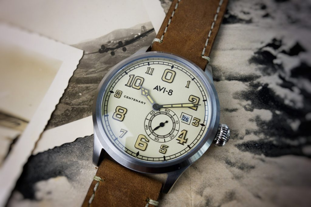 AVI-8 Centenary 1920s Royal Air Force RAF Uhr