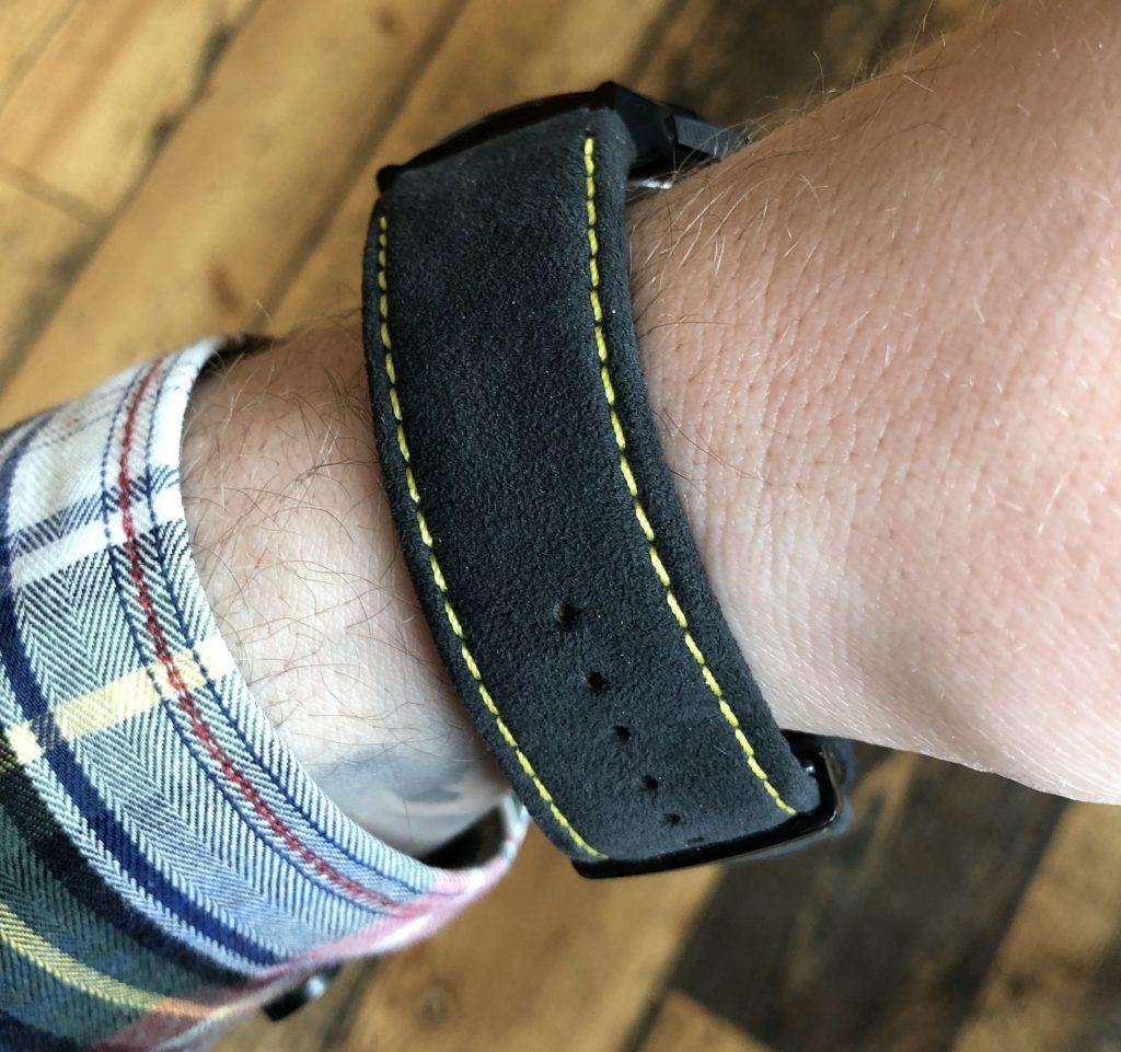 Alcantra Uhr Armband