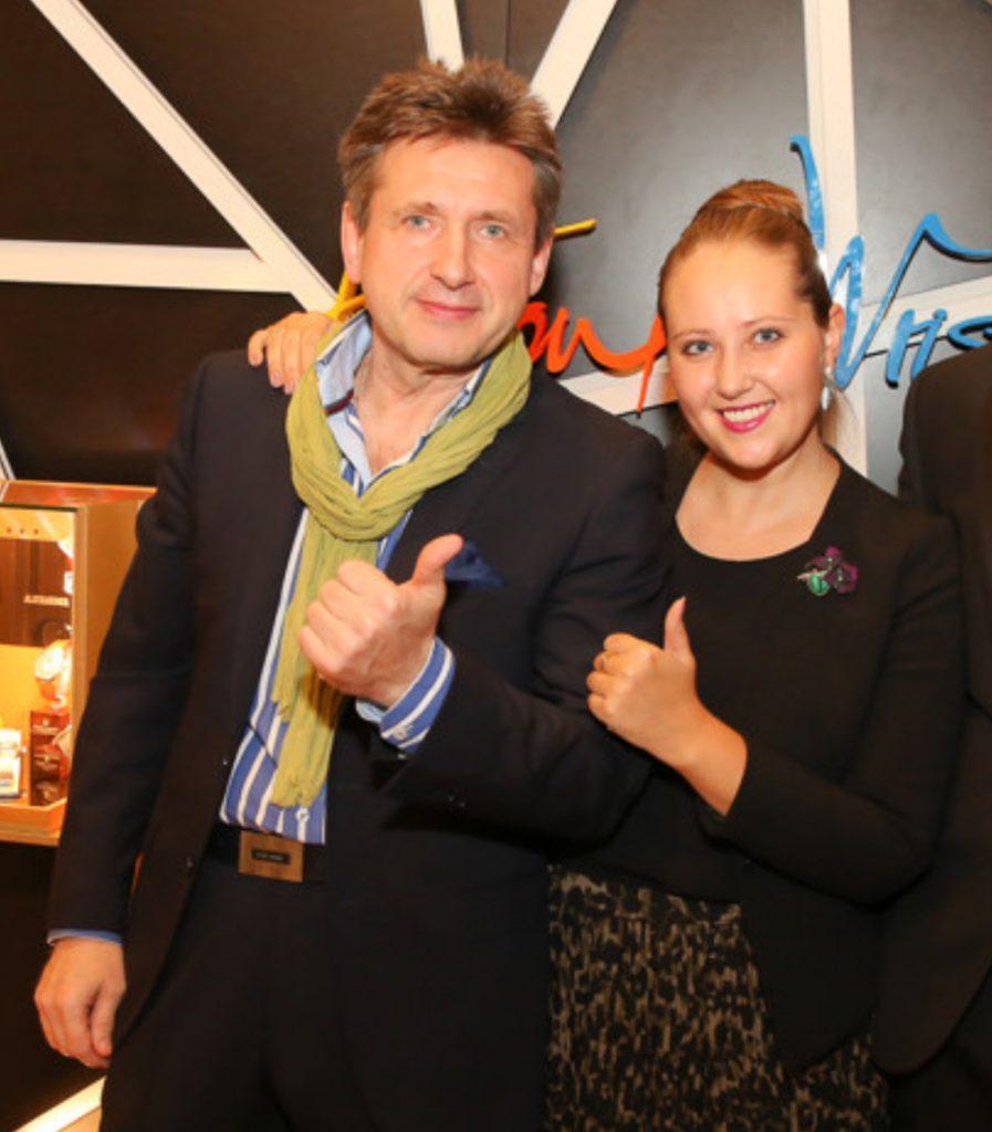 Alexander Shorokhov und Tochter Inga Duffy-Shorokhova