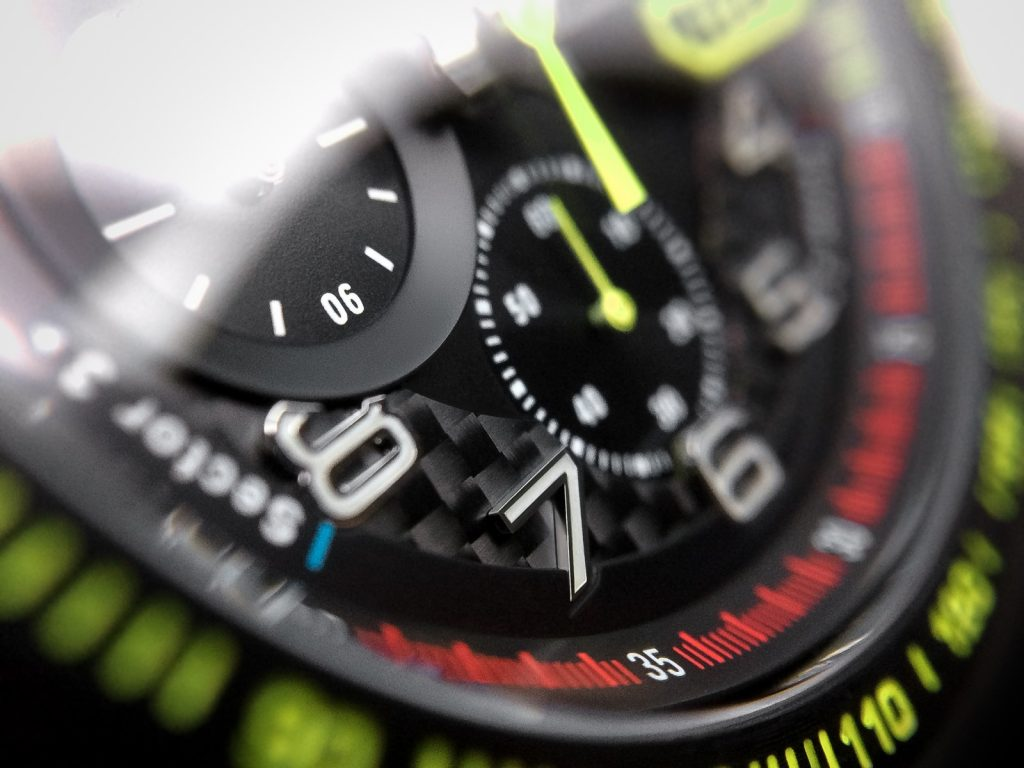 Carbon-Ziffernblatt Chronograph F1