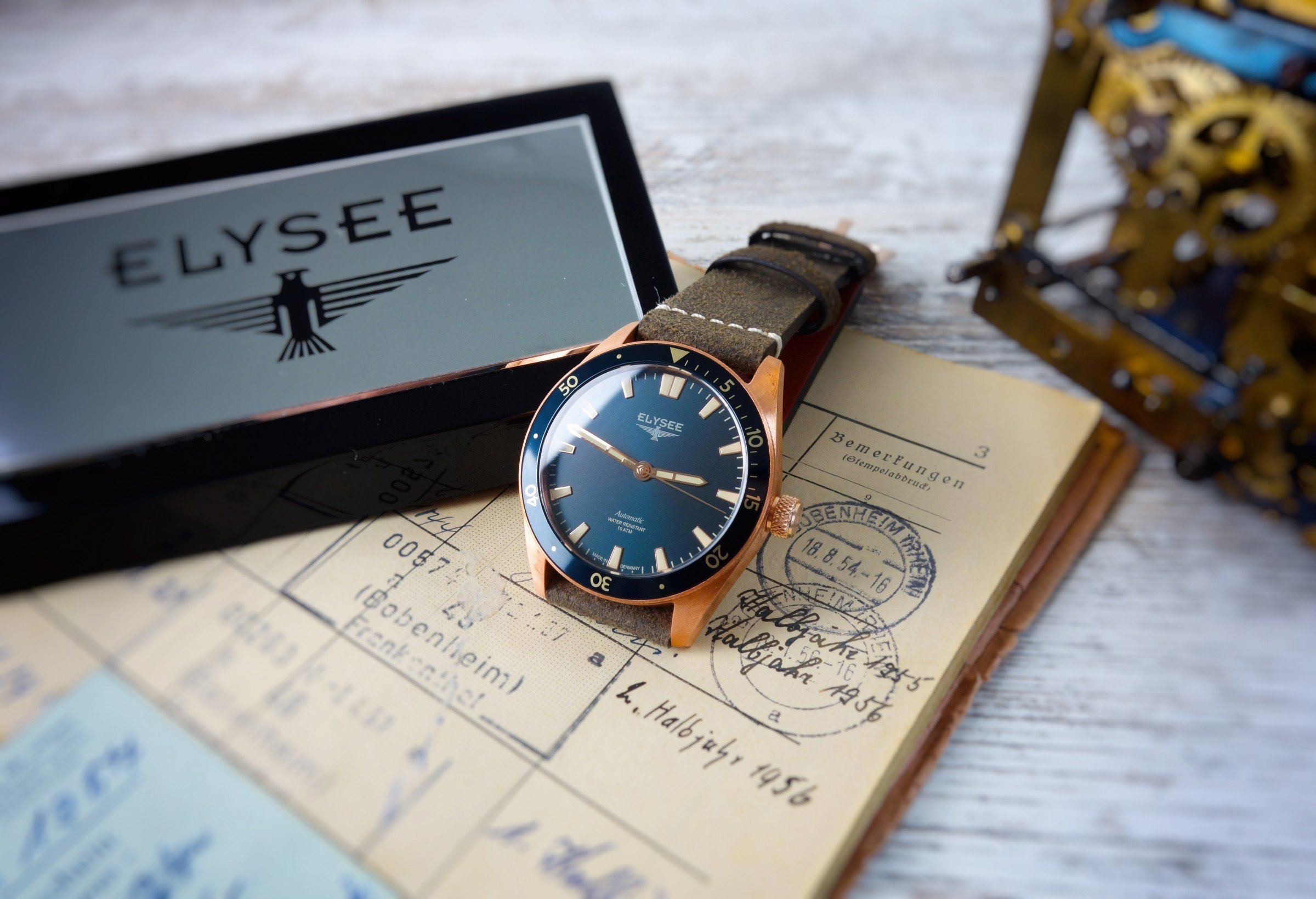 ELYSEE Bronze Automatic