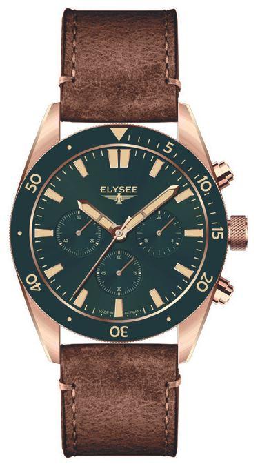 Elysee Bronze Chronograph