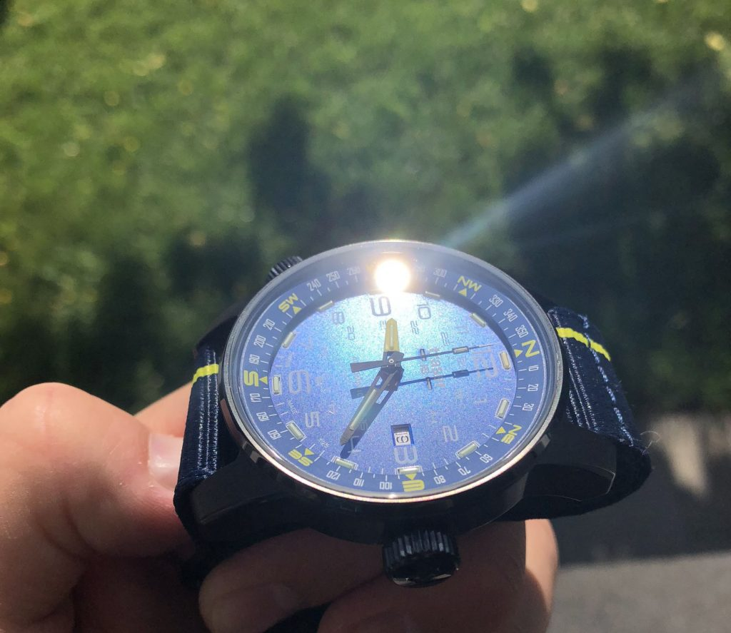 Kompassring Outdoor-Uhr Traser