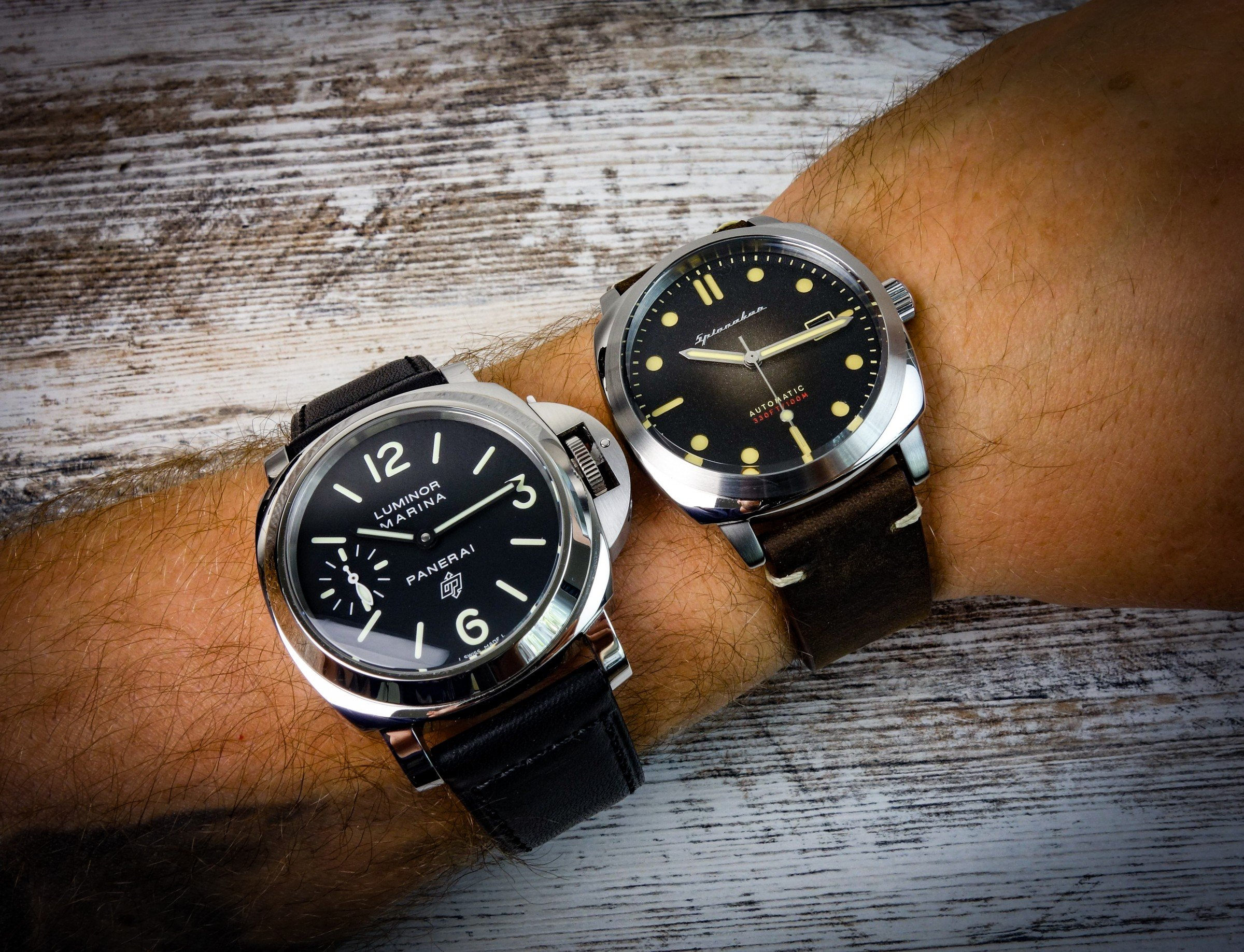 Panerai Hommage vs. Original-2