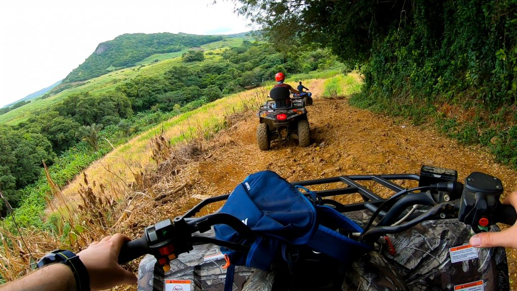 Quad Tour Bigfoot Adventure Mauritius Berg