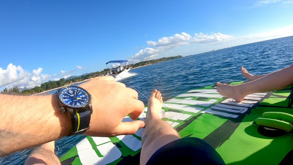 Speedboot-Mauritius Bananenboot
